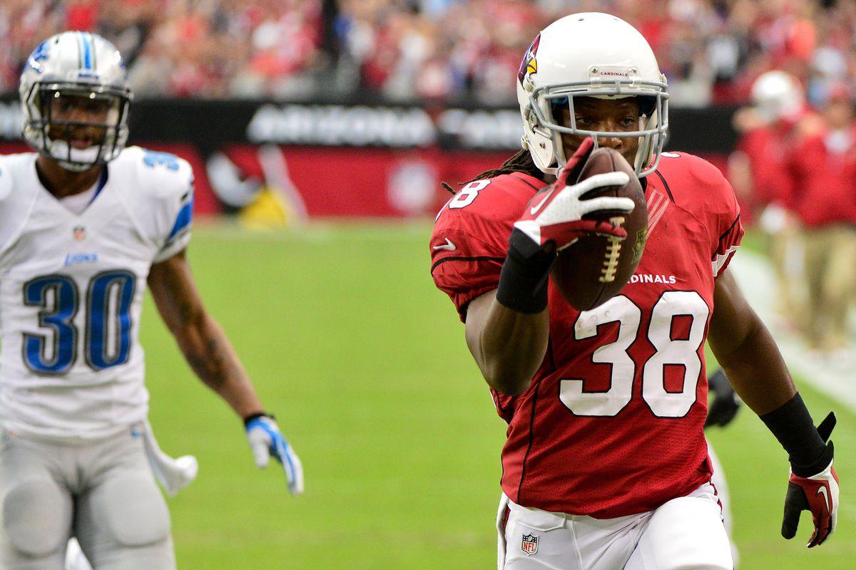 Andre Ellington headlines an impressive weekend for Cardinals rookies