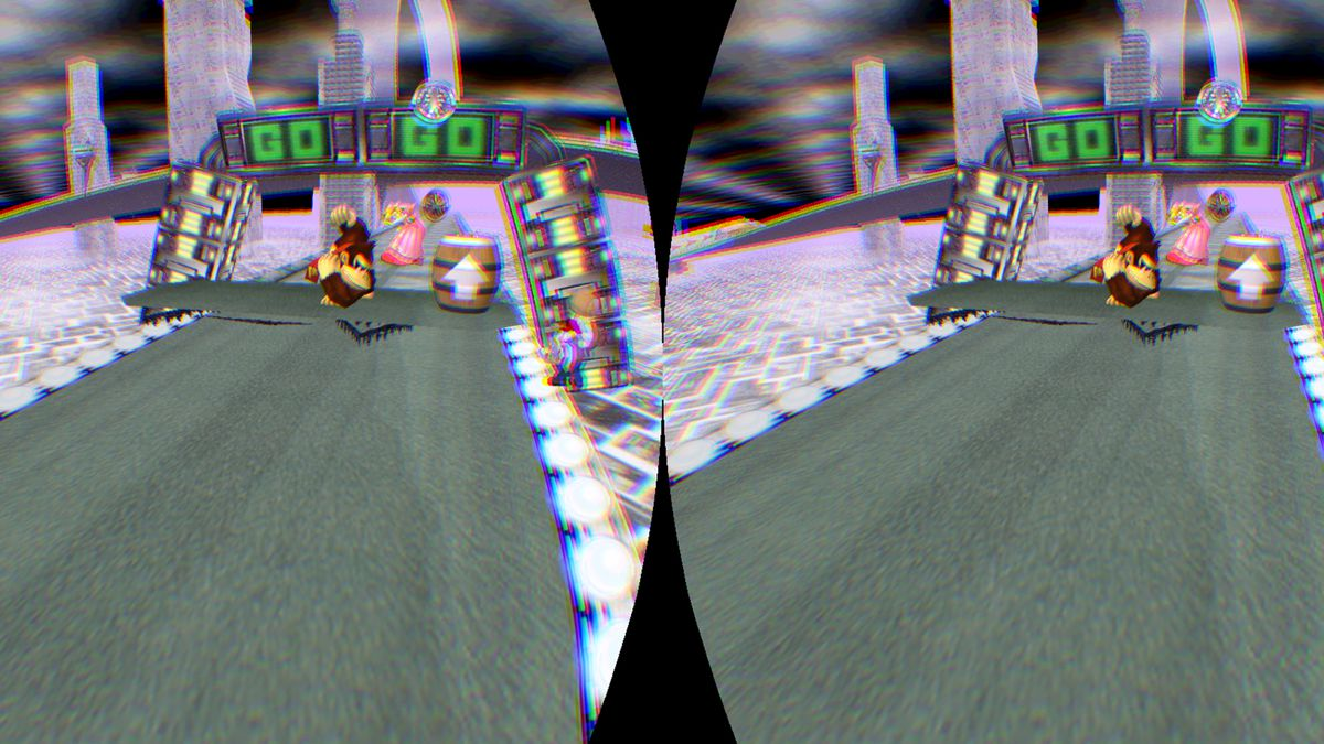 I played 'Smash Bros' through an Oculus Rift and it ruined