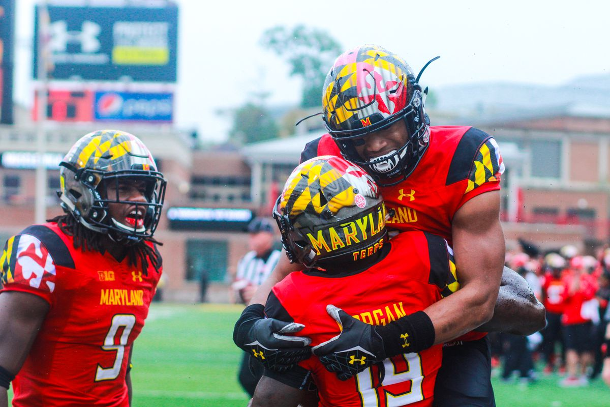 Scenes From Maryland's 50-7 Win Over Purdue.