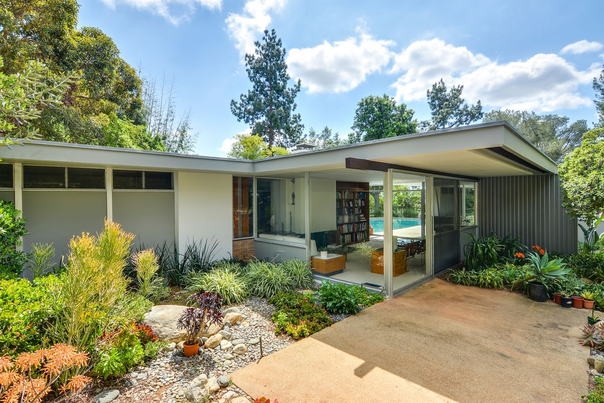 Neutra Designed Post And Beam Asks 1 25m In Claremont