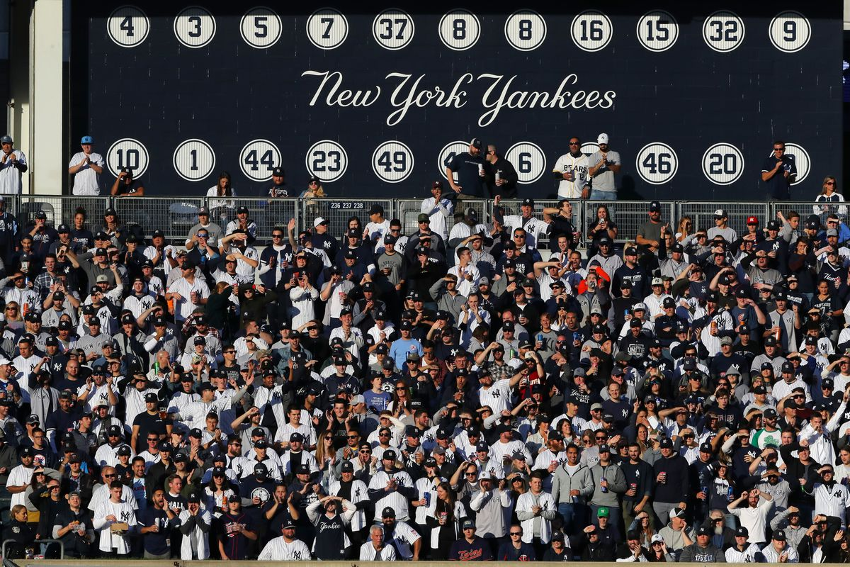 The Yankees haven't been represented well by their fans this postseason