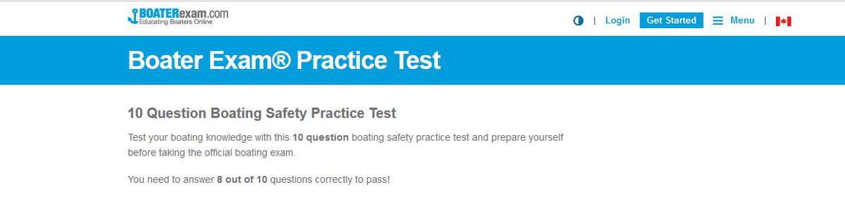 practice test