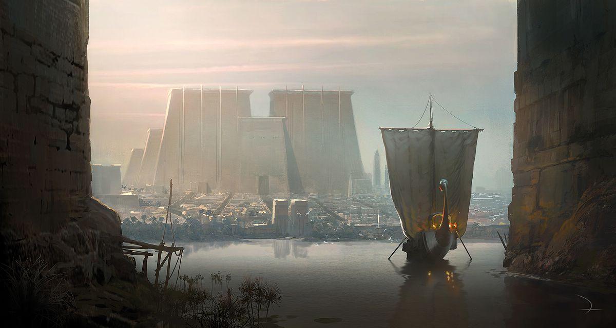 The Art of Assassin's Creed Origins - Polygon