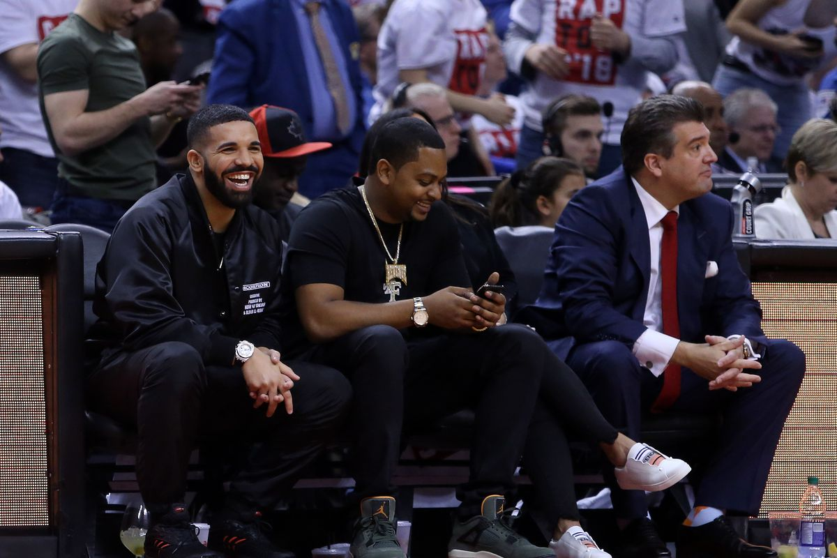 5e8d69f40ca5 It was only a matter of time before Drake got into a fight with an NBA  player