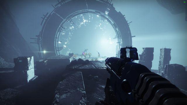 The beginning of Destiny 2: Shadowkeep's Garden of Salvation raid