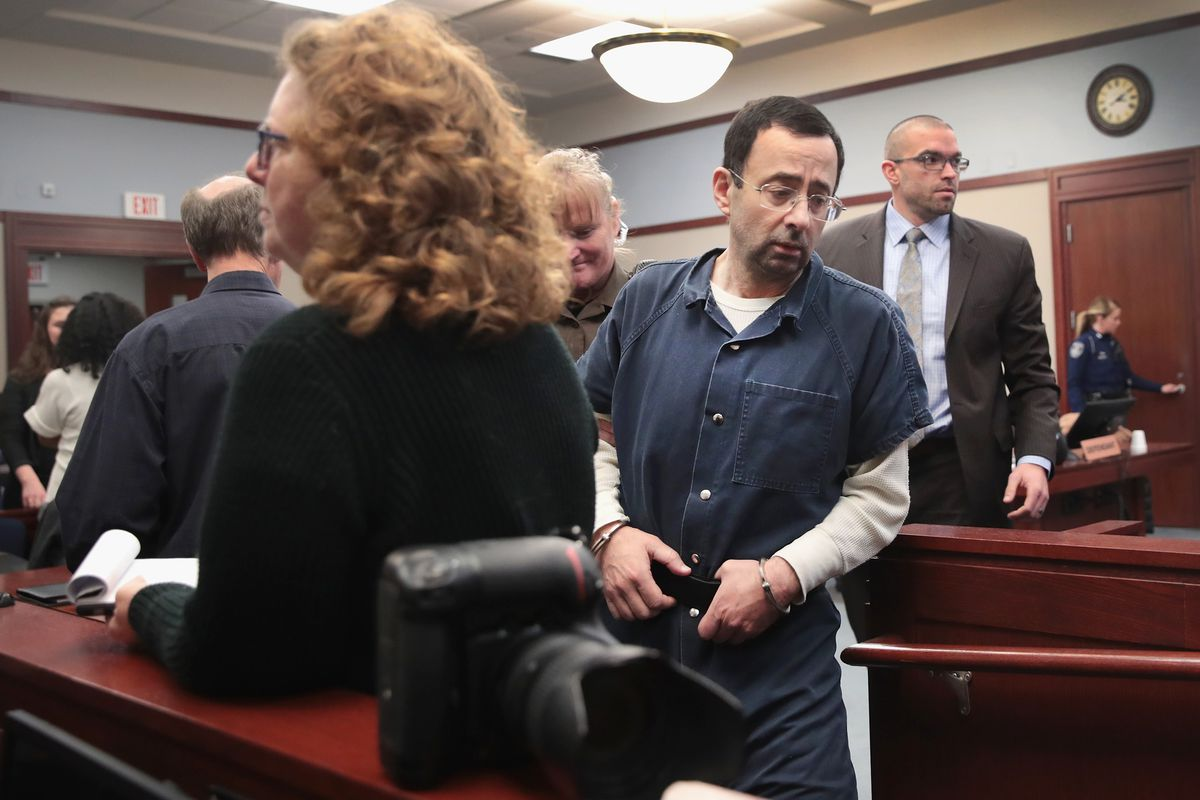 Larry Nassar accused of molesting teenage gymnast who had a broken leg