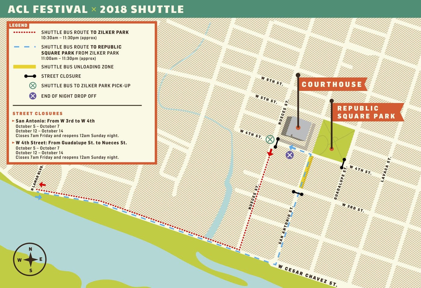ACL Fest 2018: How to get there (or avoid it) - Curbed Austin Zilker Park Map on austin map, lakeline mall map, san marcos map, mckinney falls state park map, fair park map, the pageant map, edwards aquifer map, circuit of the americas map, camp mabry map, the national map, stadium map, jj pickle research center map, iroquois amphitheater map, madison square garden map, highland mall map, dell diamond map, wisconsin state parks map, piedmont park map, red rocks amphitheatre map,