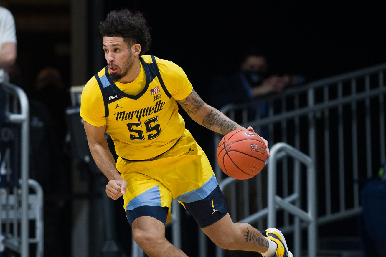 COLLEGE BASKETBALL: FEB 17 Marquette at Butler