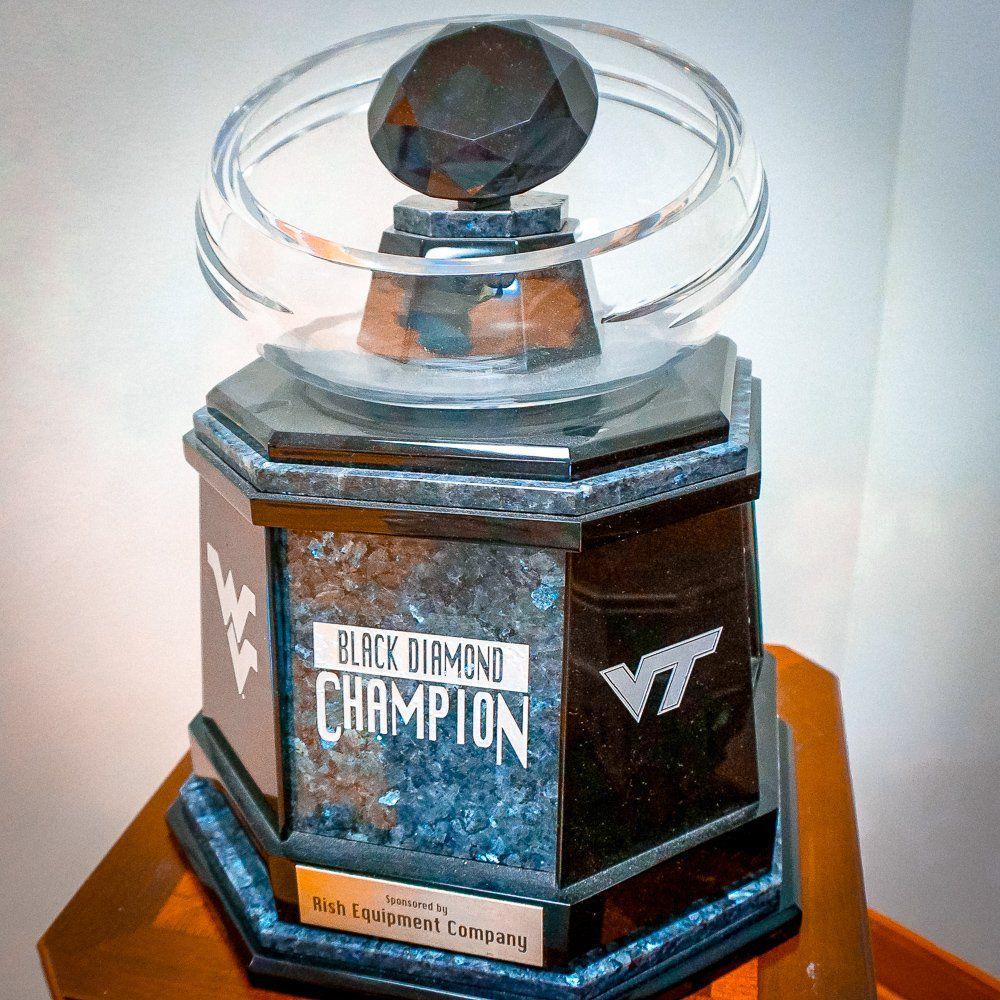 Virginia Tech-West Virginia rivalry trophy