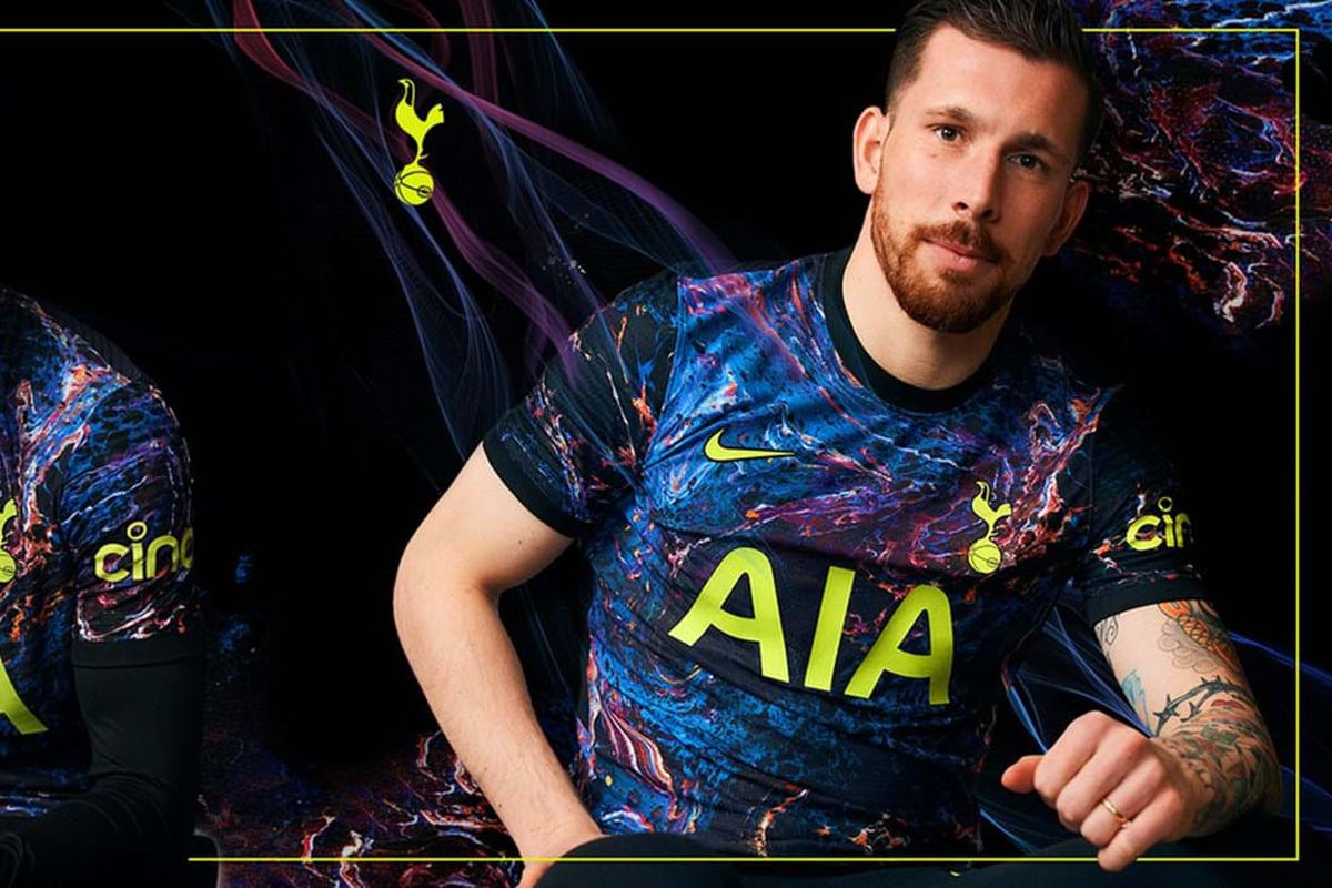 Tottenham Hotspur Officially Release Cosmic Away Kits For 2021 22 Cartilage Free Captain