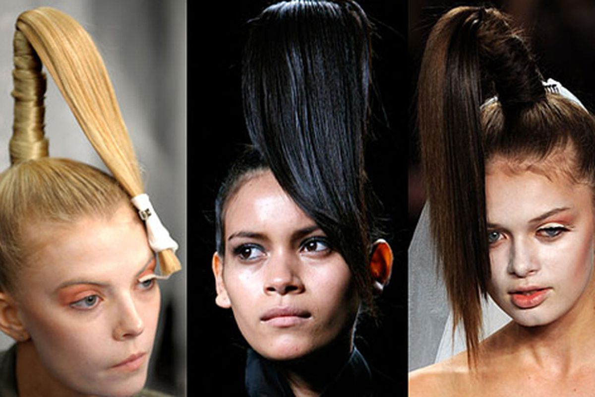 """Oh please oh please oh please, don't let this be a thing. Image via <a href=""""http://nymag.com/daily/fashion/2010/09/hot_hair_idea_the_mile-high_po.html?"""">The Cut</a>"""