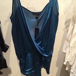 Silk cami, $50