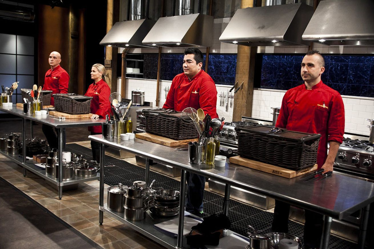 Pop as the ultimate Chopped competitor?