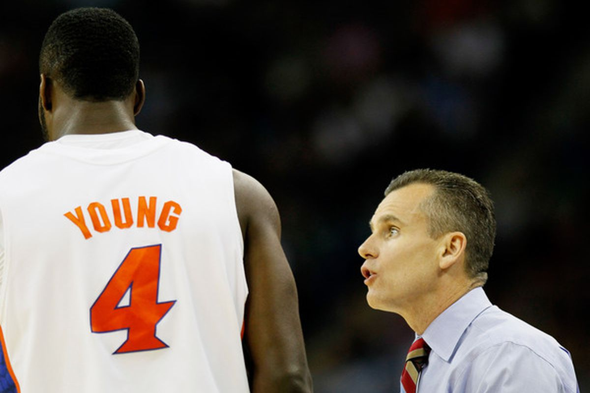 Billy Donovan could use another big man to pair with Patric Young up front for his Gators. Don't count on Jarnell Stokes filling that role.