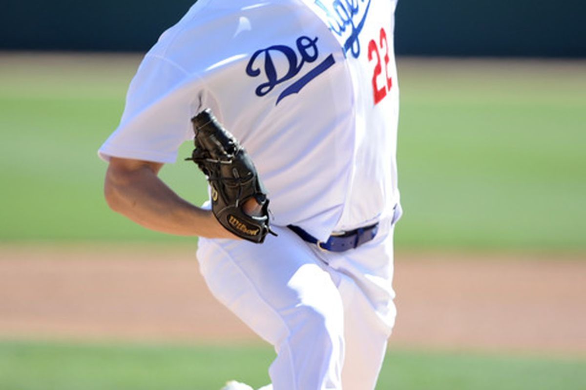 Clayton Kershaw will make $500,000 in 2011.  (Photo by Harry How/Getty Images)
