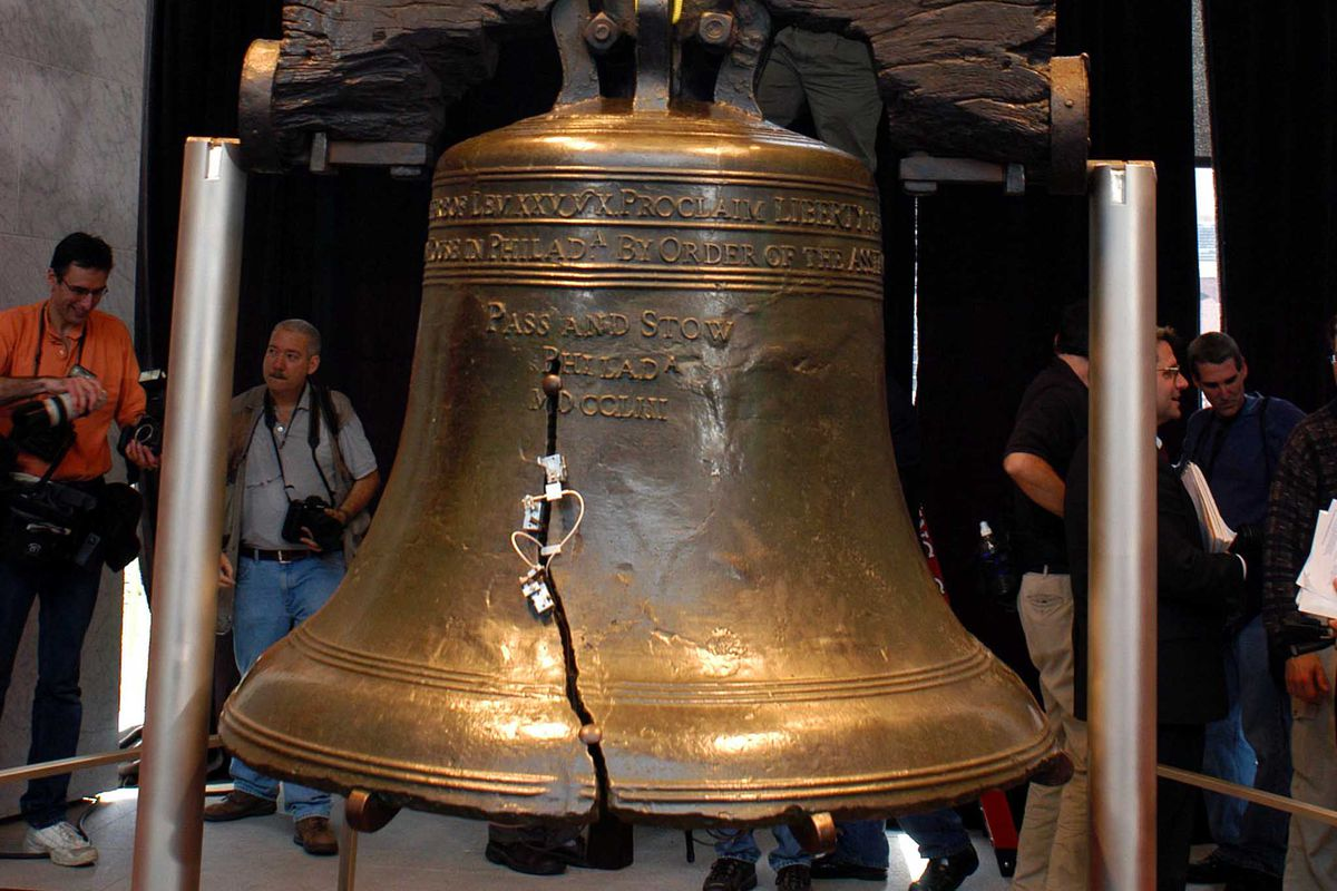 Liberty Bell Moves To New Home On Independence Mall In Philadelphia