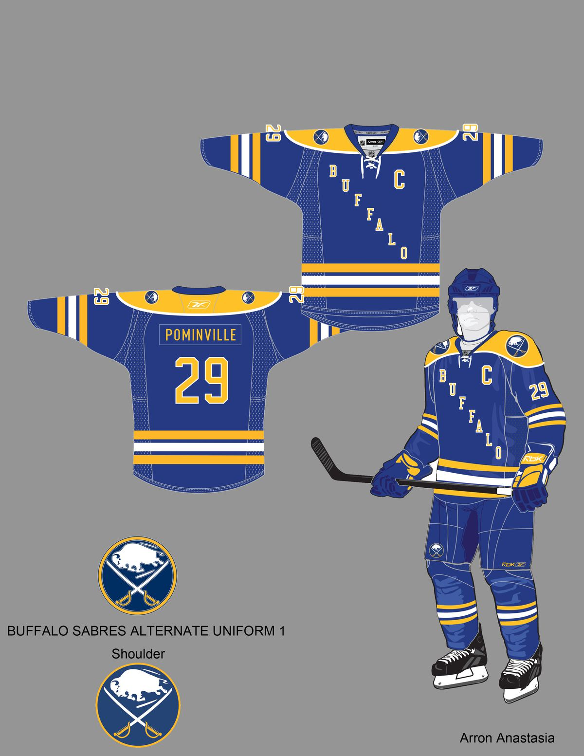 Design a New Sabres Third Jersey  Round 4 126eaaed9ea