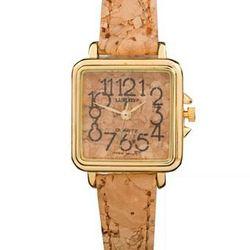 "<a href=""http://store.americanapparel.net/luxurycork.html""> American Apparel Luxury Ladies Cork Watch<a/>, $38 via americanapparel.net"