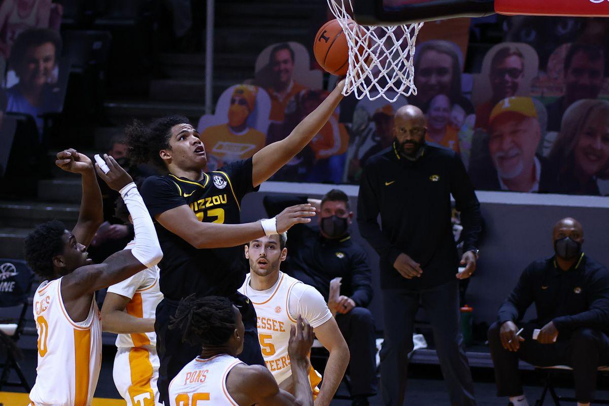 NCAA Basketball: Missouri at Tennessee