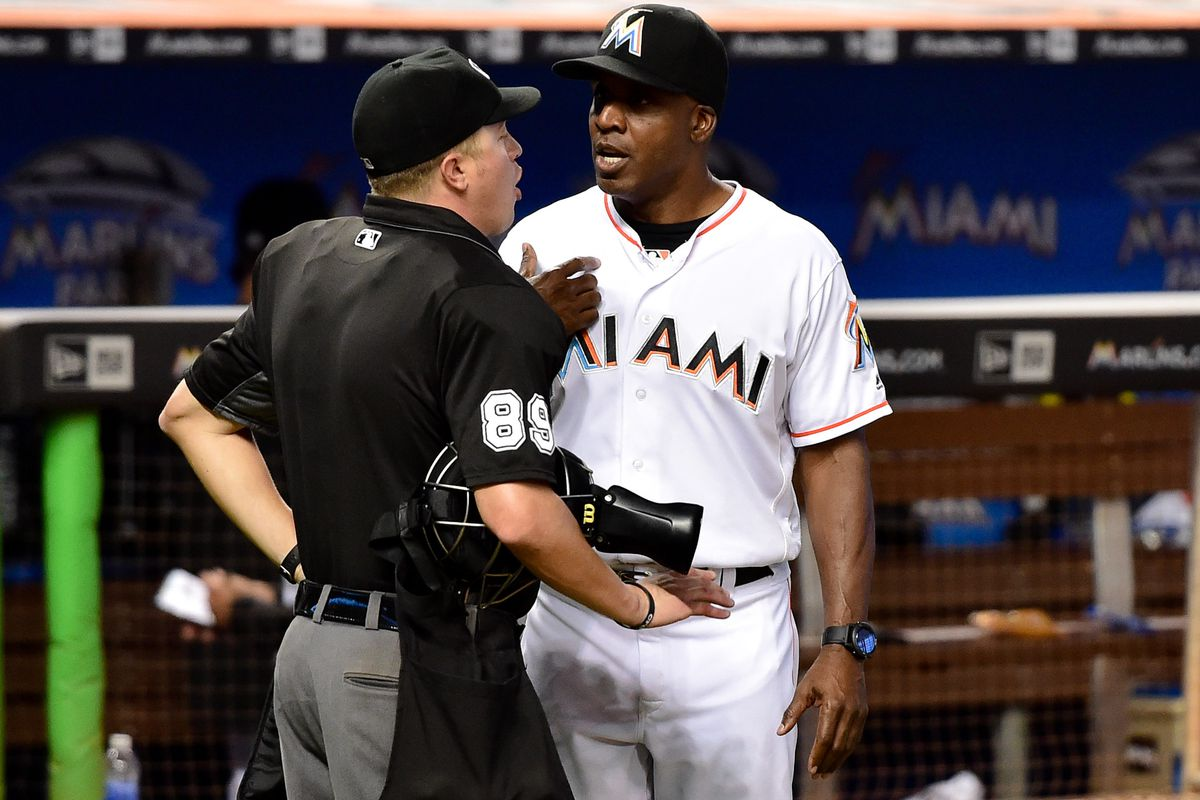 Also, Barry Bonds was ejected, which seems important.