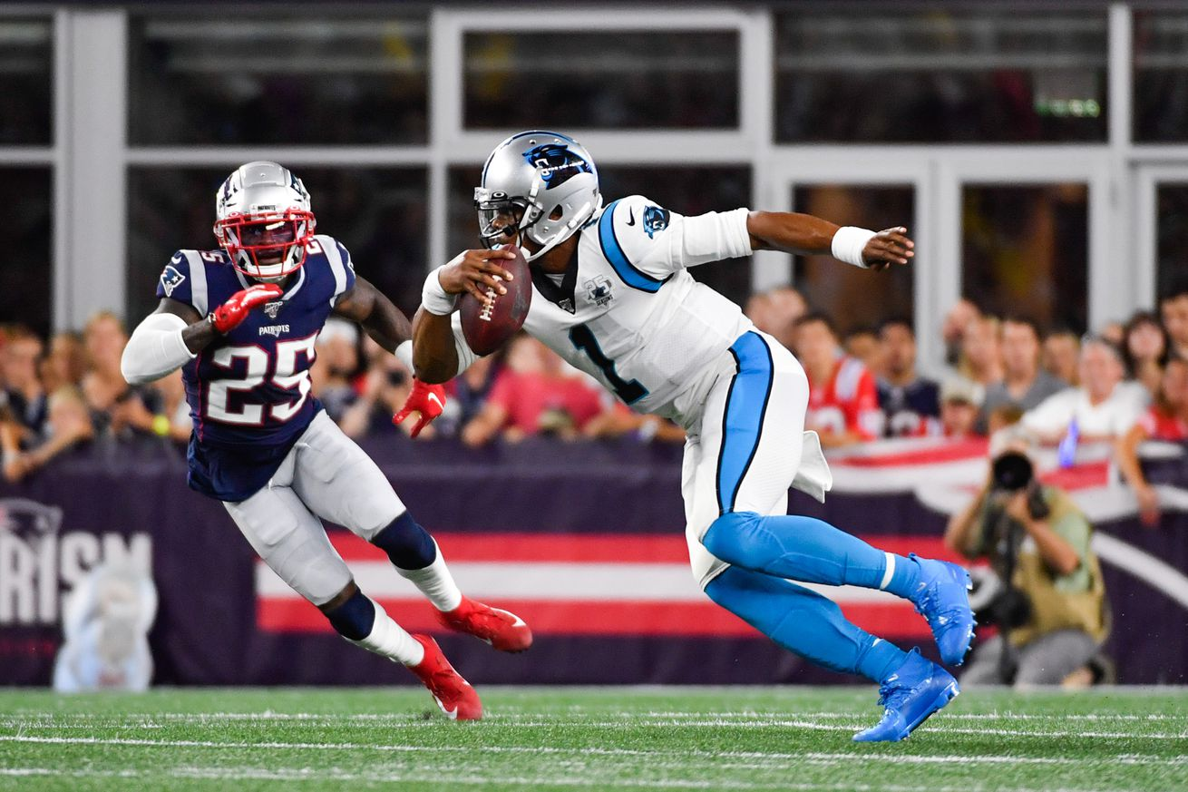 Panthers 3 Patriots 10: The good, the bad and the ugly