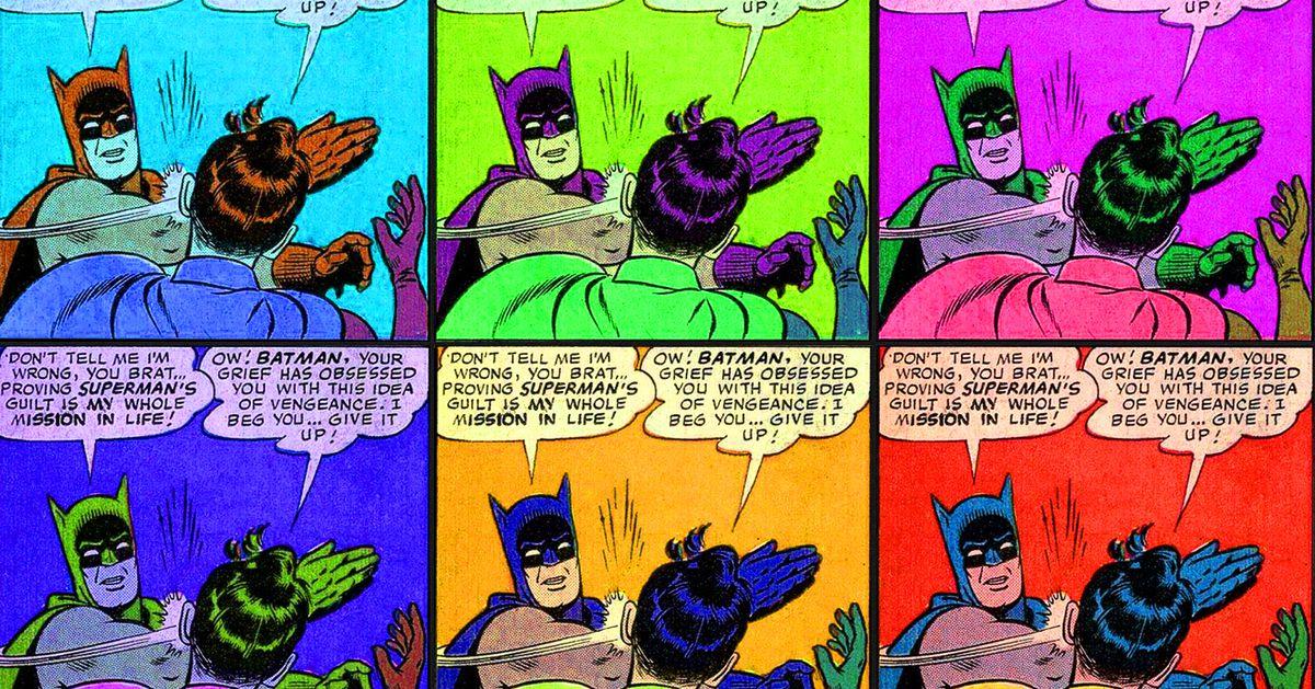 The Batman Slapping Robin meme, finally explained - Polygon