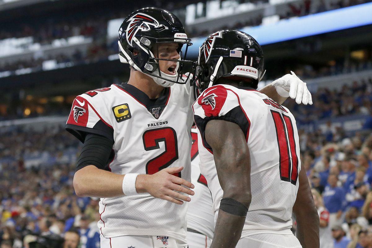 NFL Week 4: Titans vs. Falcons Gambling Spread, Line, Total, Odds