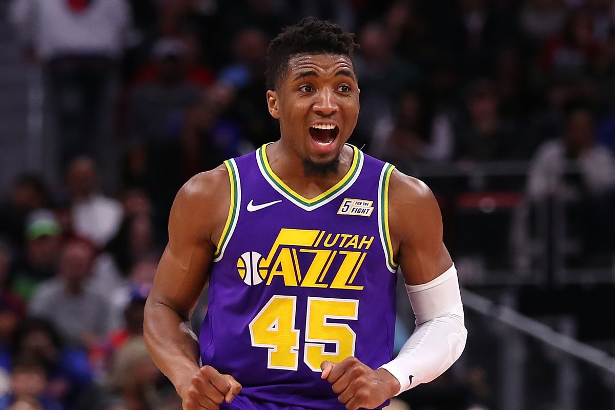 half off 2db10 ade55 Donovan Mitchell Selected to the Rising Stars Roster - SLC Dunk
