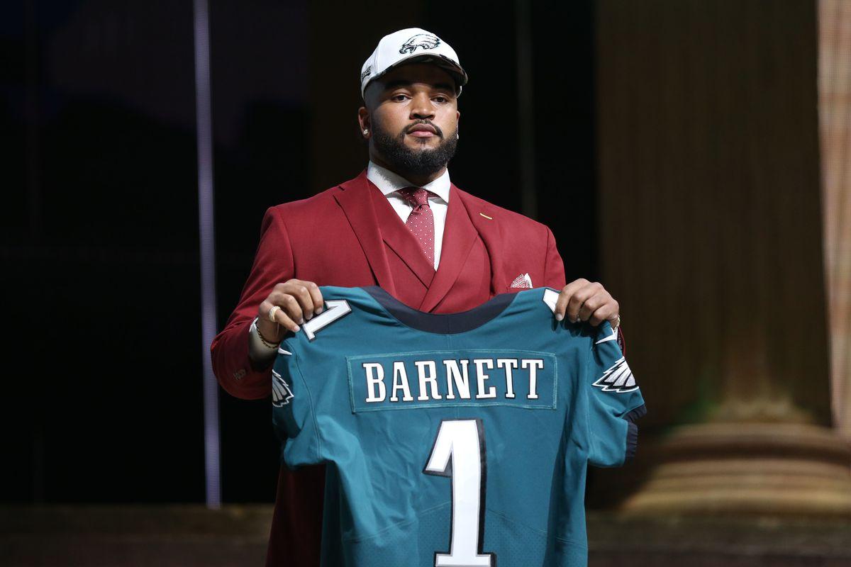 Eagles, first-round pick Derek Barnett agree on 4-year deal