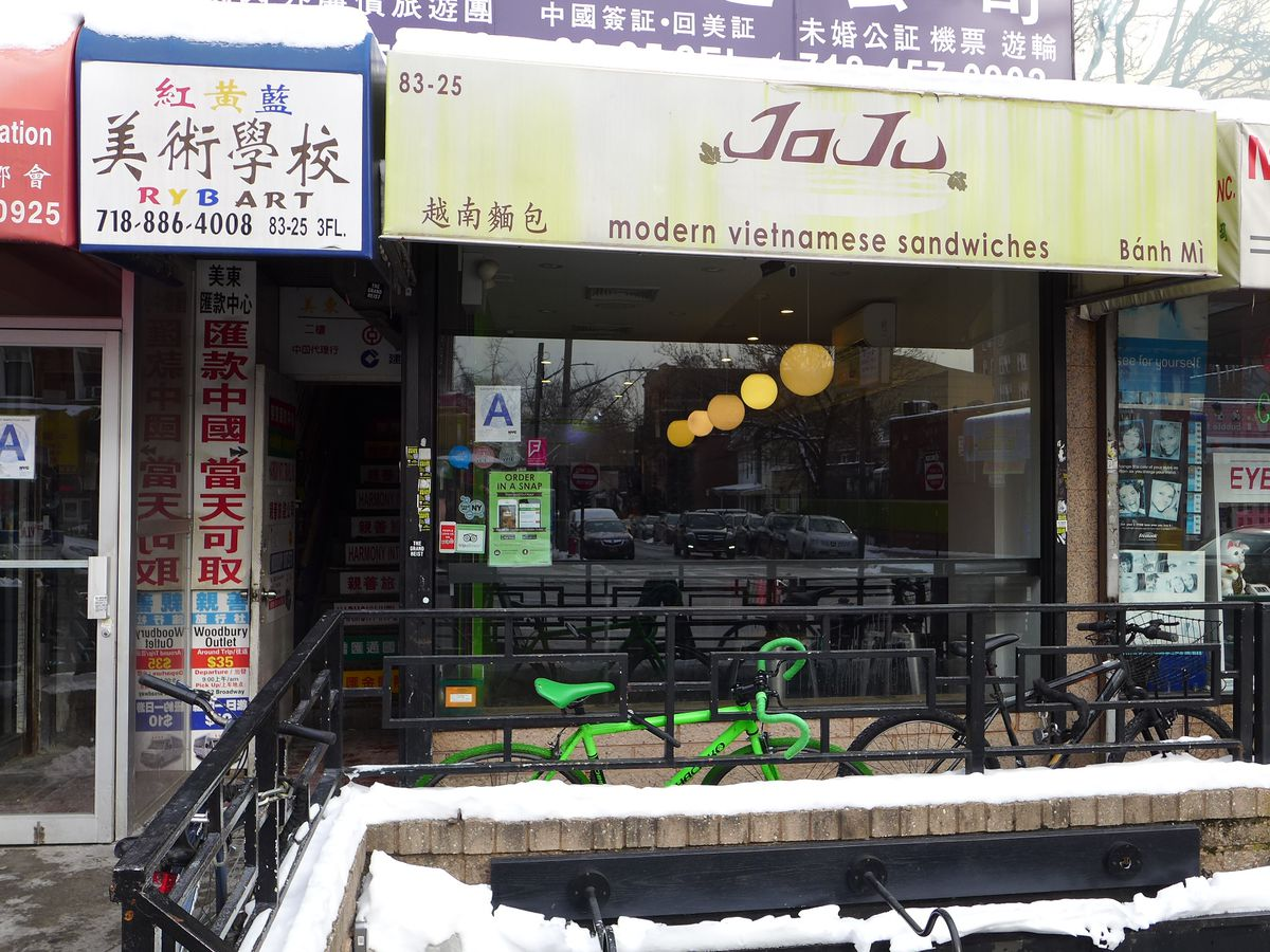 JoJu is one of the city's most unusual banh mi shops.