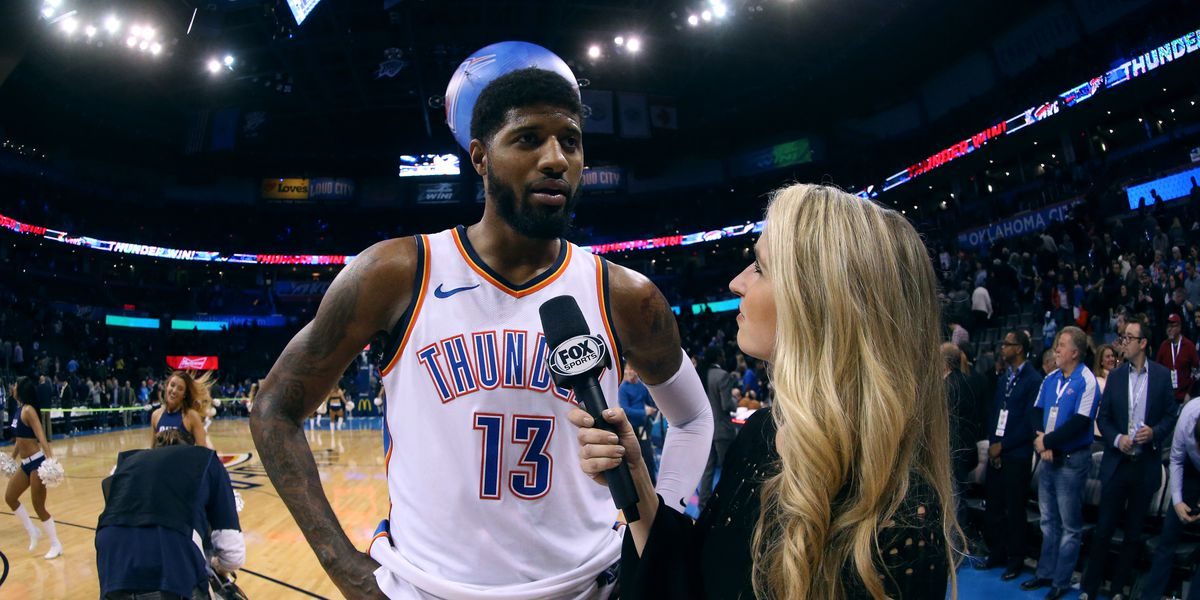1116f76235f Paul George free agency: Thunder star could stay in OKC thanks to Russell  Westbrook - SBNation.com