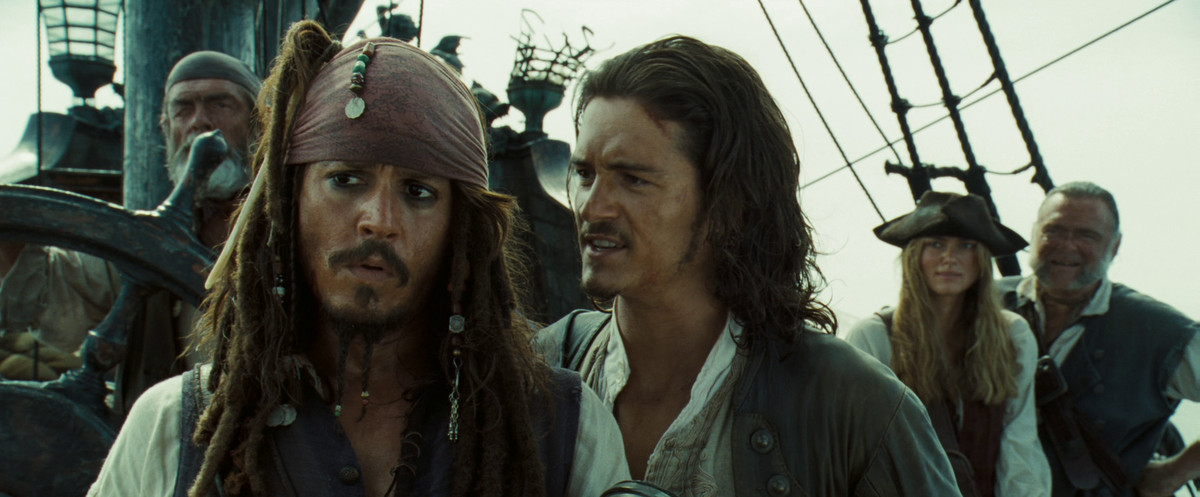 jack sparrow and will in dead man's chest