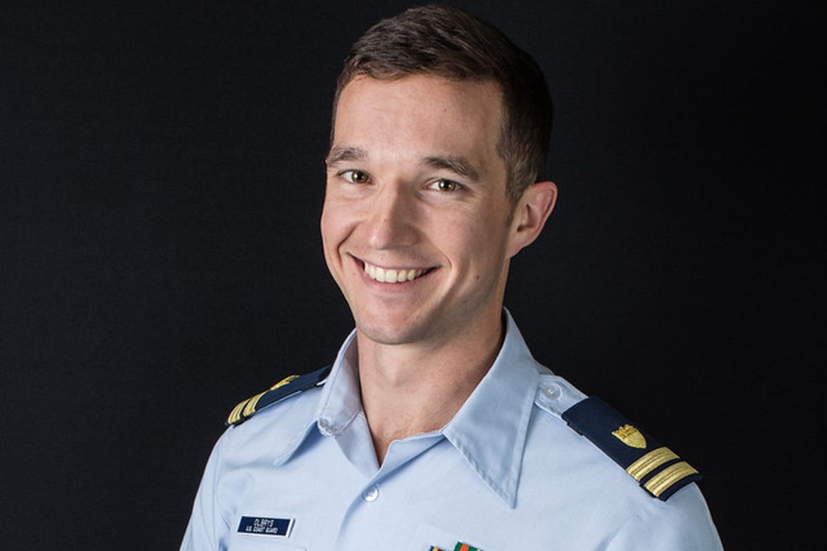 John Olbrys is a commissioned officer in the Coast Guard.