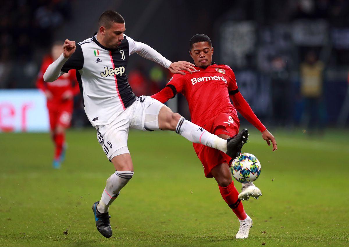 Bayer Leverkusen v Juventus - UEFA Champions League - Group D - BayArena