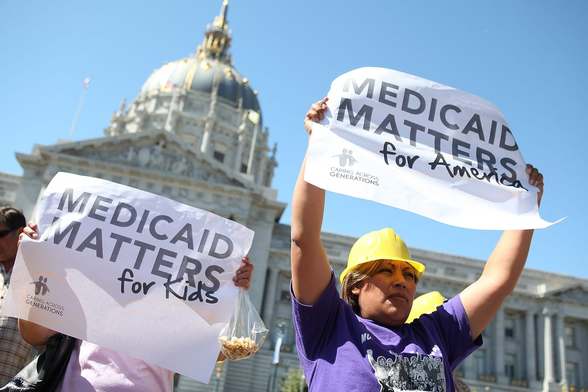 Bay Area Activists Protest Cuts To Medicaid
