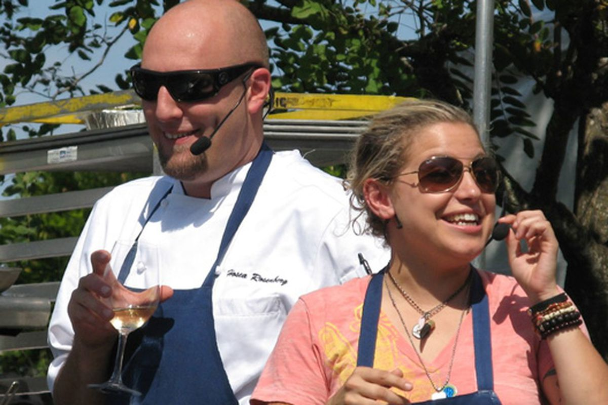 Top Chefs do their best Janet Jackson impressions in Sonoma.