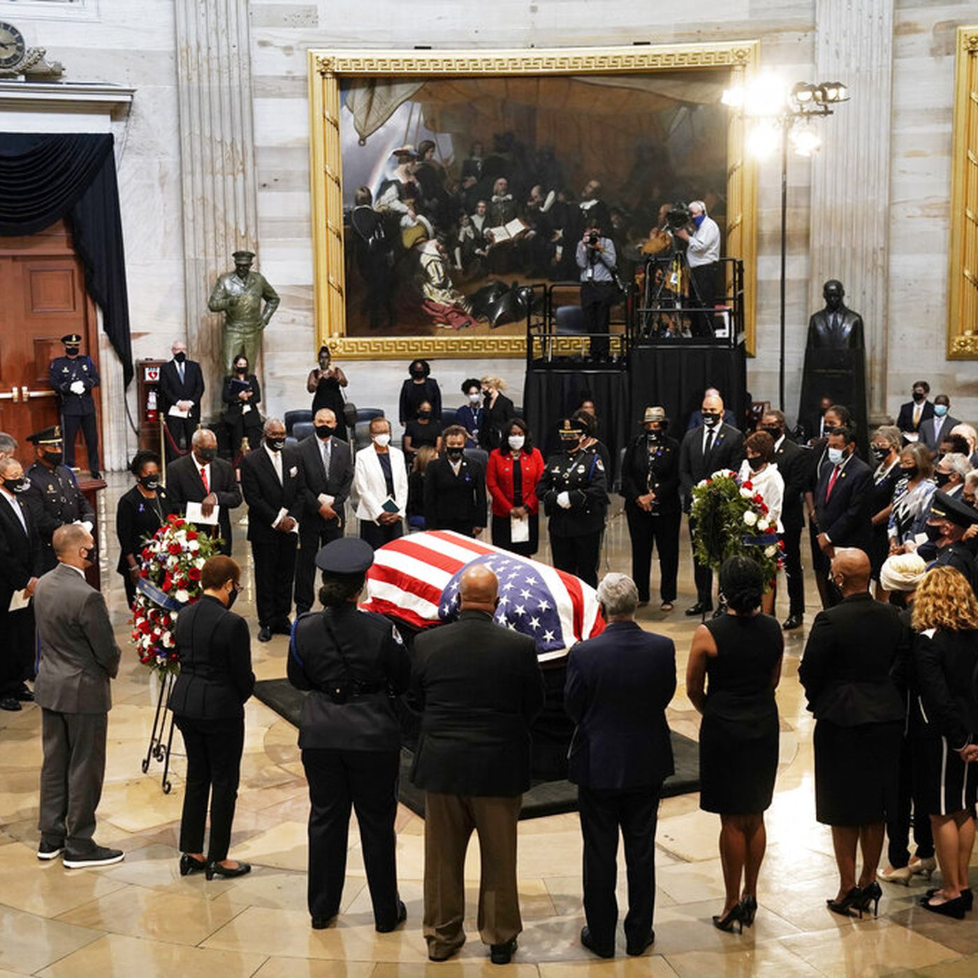 John Lewis Memorial Civil Rights Icon Honored In Capitol Rotunda Chicago Sun Times
