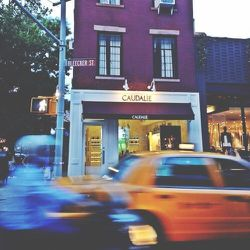"""After work I did a little shopping on Bleecker Street. My first stop was <b>Caudalie</b>, whose products are an essential part of my daily regimen. I specifically needed to stock up on the <a href=""""http://us.caudalie.com/shop-products/exclusives/best-sell"""