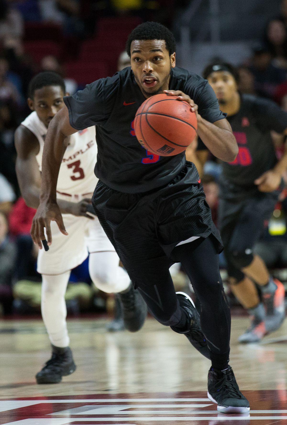 NCAA Basketball: Southern Methodist at Temple