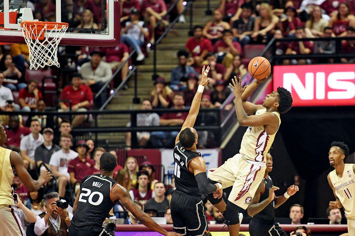 NCAA Basketball: Miami at Florida State