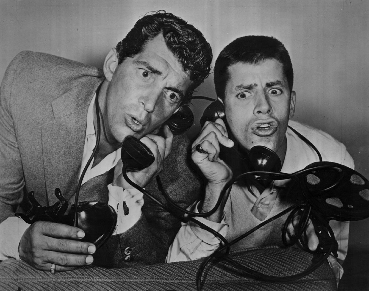 Dean Martin and Jerry Lewis in 1955. | Sun-Times File