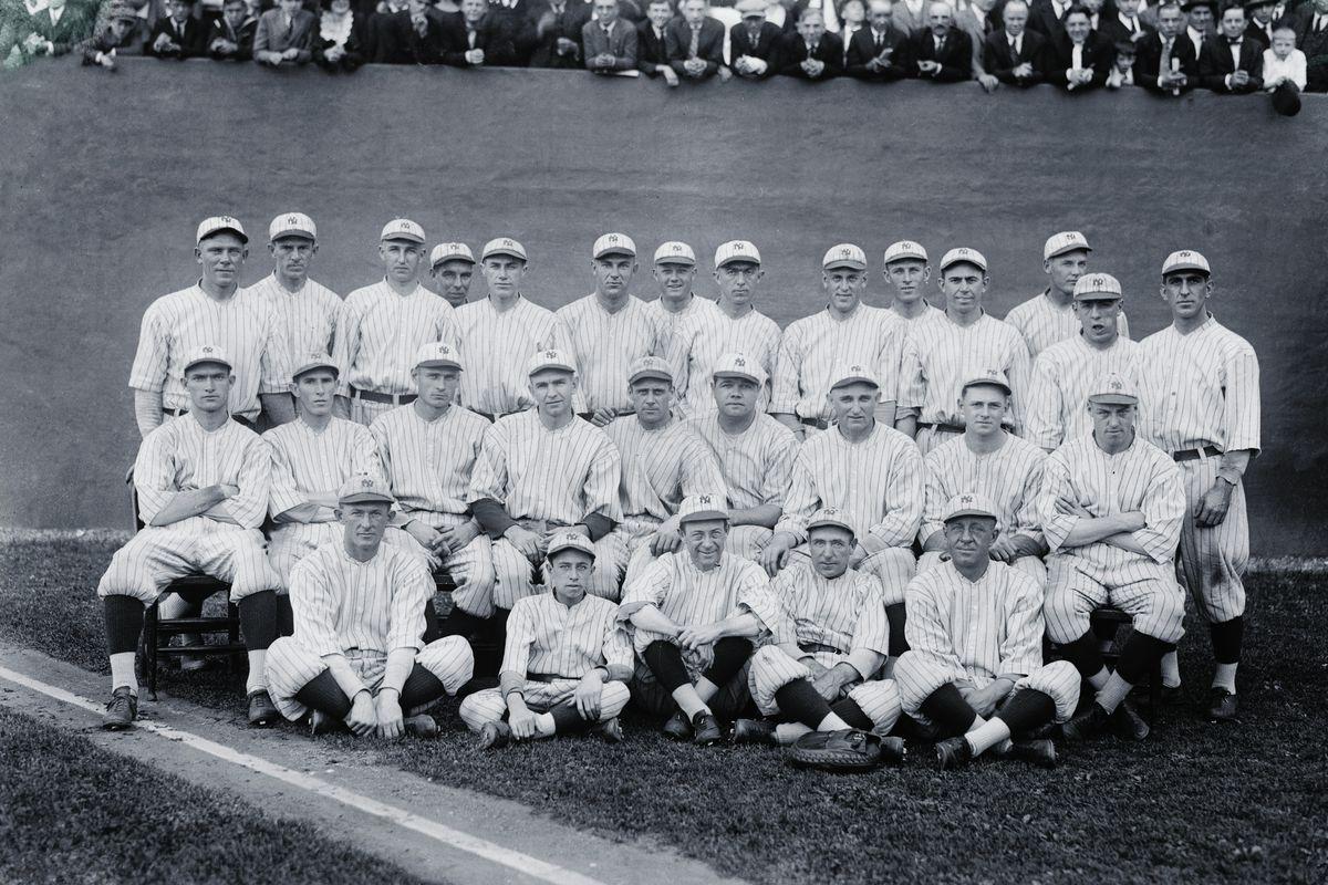 Team Portrait of New York Yankees of Nineteen Twenty One