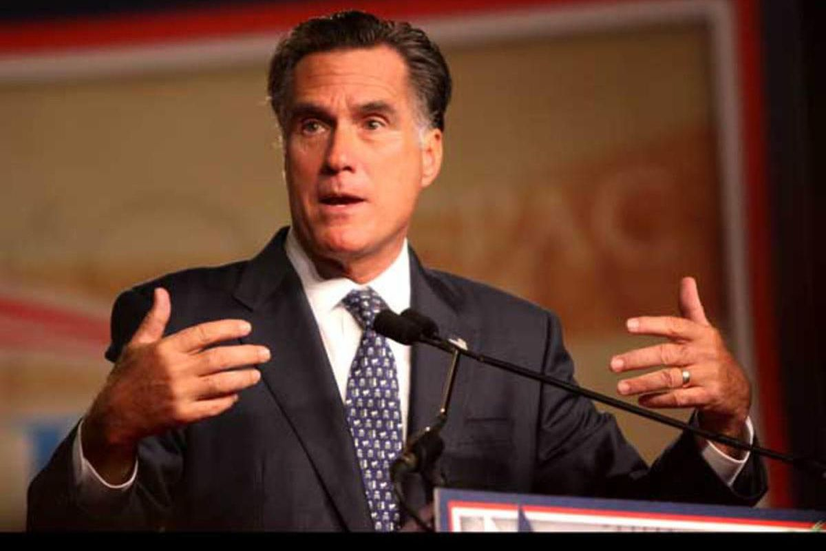 """Mitt Romney said last week that Roy Moore is """"unfit"""" as the GOP Senate nominee for Alabama's special election on Dec. 12."""