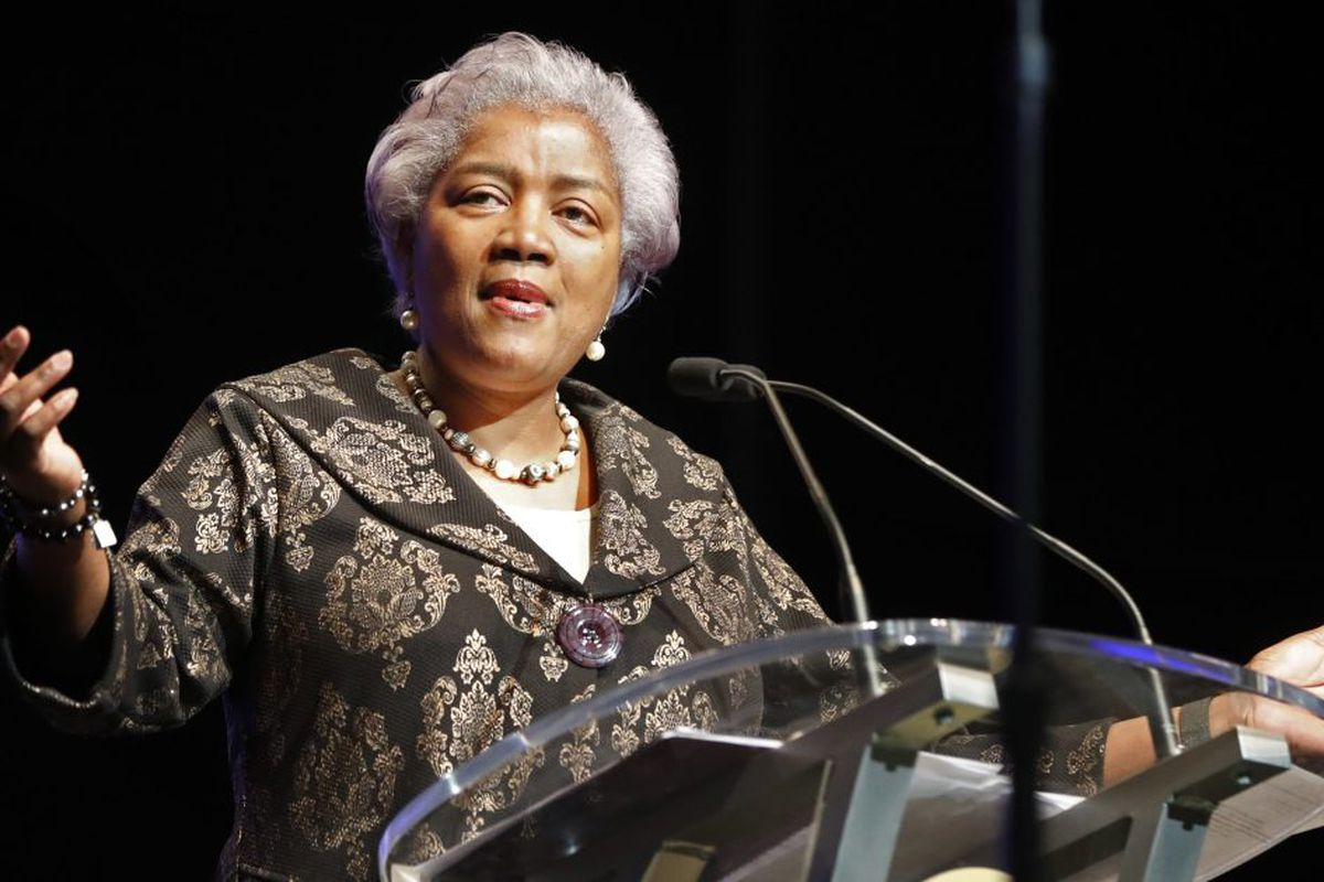 Image result for Watch Video: Fox News hired Donna Brazile as political contributor .
