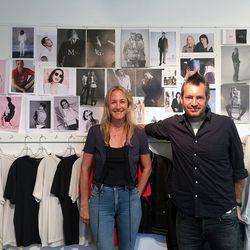 Mother designer Tim Kaeding and Lela Becker