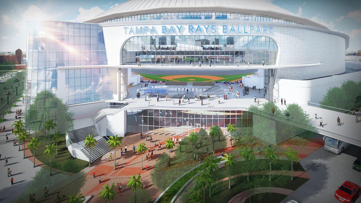 Tampa Bay Rays stadium...