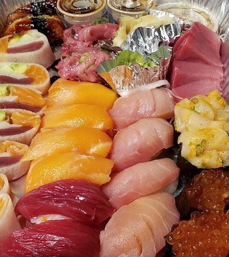 Sushi from Mikado Ryotei