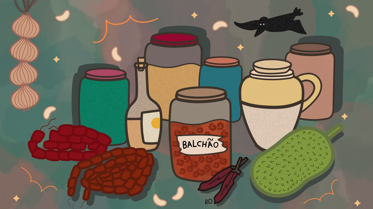 an illustration of pantry provisions.