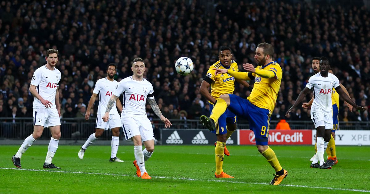 Juventus Vs Tottenham Hotspur Final Score 2 1 Spurs Out