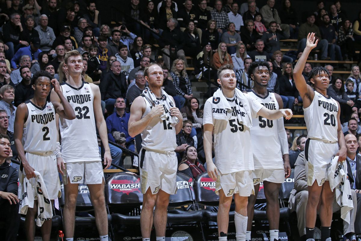 College Basketball Rankings December 30 Purdue Climbs